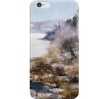 """Sleeping lake (From series """"Nostalgie"""") iPhone Case/Skin"""