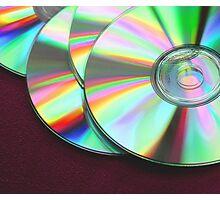 CD's Photographic Print