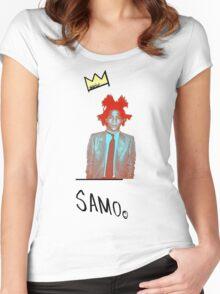 samo Women's Fitted Scoop T-Shirt