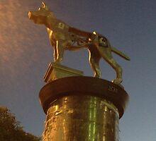 Marrickville running dog sculpture by jphenfrey