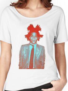basquiat Women's Relaxed Fit T-Shirt