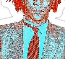 basquiat Sticker