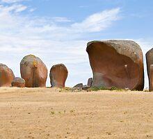 Murphy's Haystack - Eyre Peninsula, South Australia by Stephen Permezel
