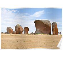 Murphy's Haystack - Eyre Peninsula, South Australia Poster