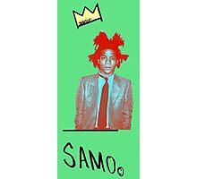 samo - green back Photographic Print