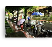 Rainy day in Bali Canvas Print