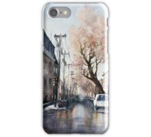 March on Plateau. Montreal. Quebec iPhone Case/Skin