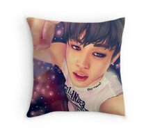 Galaxy Jimin Throw Pillow