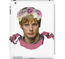 Arthur Pendragon Floral  iPad Case/Skin