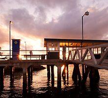 Sunset, cockatoo Island - 2, Sydney Harbour by jphenfrey