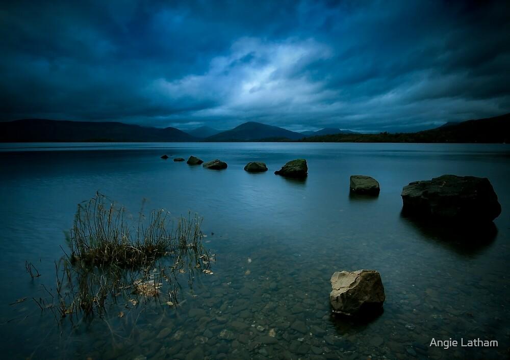 Loch Lomond Twilight by Angie Latham