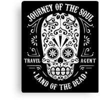 Travel Agent Catrina Canvas Print