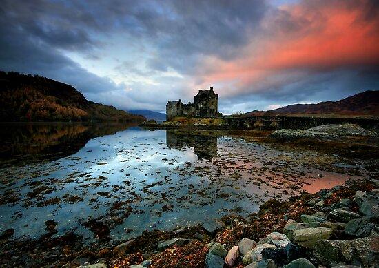 Eilean Donan Sunrise by Angie Latham