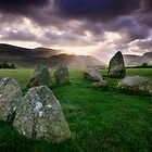 Ancient Stones : Castlerigg by Angie Latham