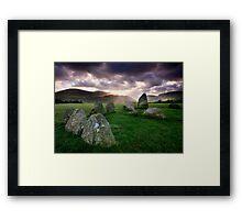 Ancient Stones : Castlerigg Framed Print