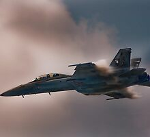F/A-18 Hornet by Andreas Mueller
