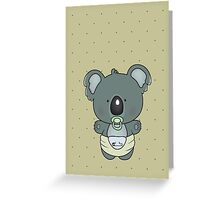 baby koala Greeting Card