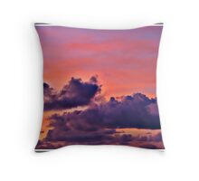 """ Sunset over Portreath"" Throw Pillow"