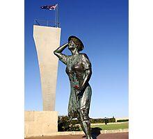 Geraldton monument Photographic Print