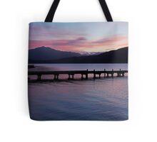 Lake Kaniere at dusk Tote Bag