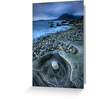 Elgol twilight : Isle of Skye Greeting Card