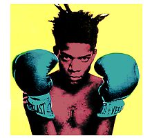 basquiat andy warhol style by adam mazzarella