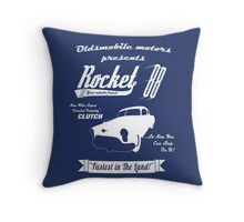 Rocket 88 Throw Pillow