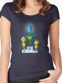 Link's Purest Blue Stuff Women's Fitted Scoop T-Shirt