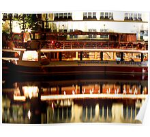 River Boat - River Ouse Poster