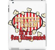 Kettle Corn! It's a fun time snack! iPad Case/Skin