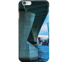 Underneath Erasmusbrug iPhone Case/Skin