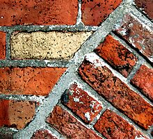 Tectonic Bricks - Saint Nicholas Church, Carrickfergus. by Stephen Maxwell