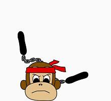 Ninja Monkey!!! Womens Fitted T-Shirt