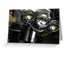 Real Life Wild Hogs! Greeting Card