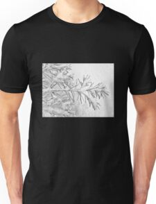 A Wintry Script Unisex T-Shirt