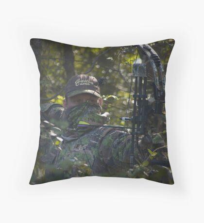 Custom Camo - Tomaflage Throw Pillow