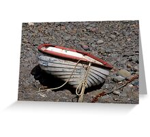 """ I can't  come fishing - I'm a bit tied up at the moment"" Greeting Card"