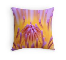Inner beauty of Water Lily Throw Pillow