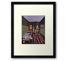 My own room in the childrens home Framed Print