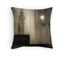 Three steps to enlightenment Throw Pillow