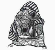 Geometric PUG T-Shirt
