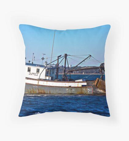 Rusty Vessel Throw Pillow
