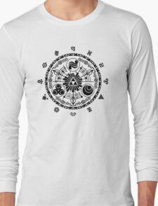 Gate of Time - Black Long Sleeve T-Shirt