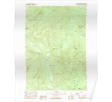 Maine USGS Historical Map Puzzle Mountain 102902 1984 24000 Poster