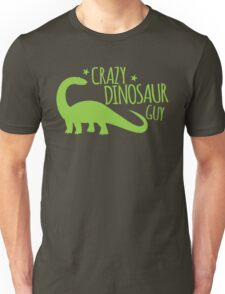 Crazy Dinosaur GUY Unisex T-Shirt