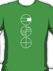 BAUHAUS ALPHABET SYMBOLS T-Shirt