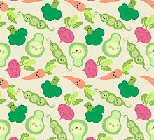 VEGETABLE PARTY! by Claudia Ramos