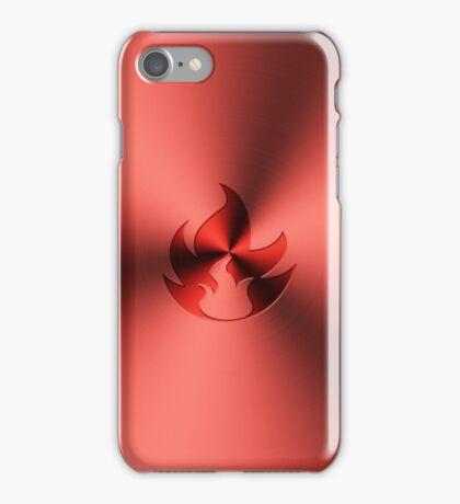 Metallic Fire Type Phone Case iPhone Case/Skin