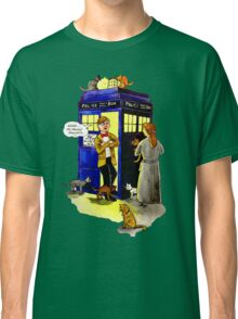 Cat Lady Companion Classic T-Shirt