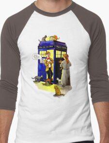 Cat Lady Companion Men's Baseball ¾ T-Shirt